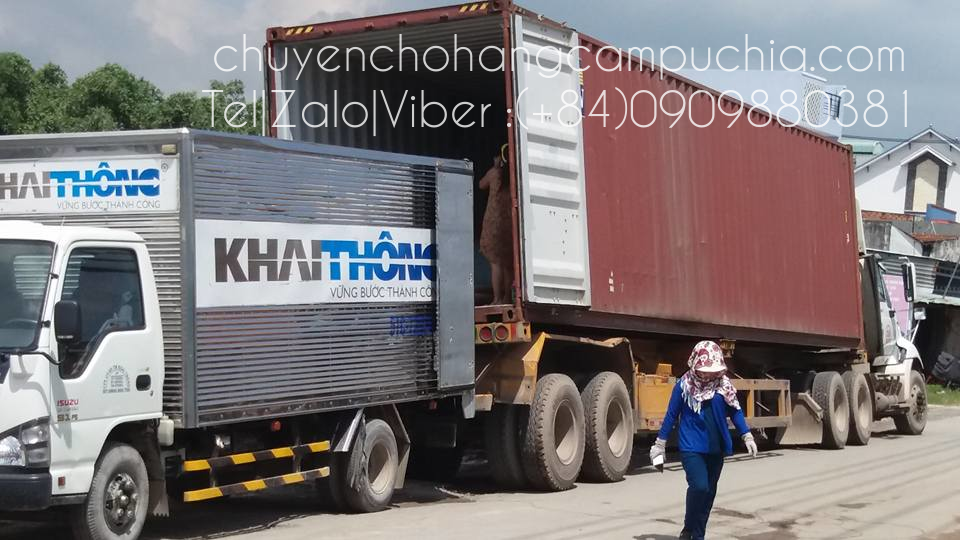 official transport cargo to cambodia